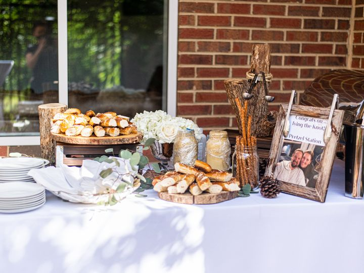 Tmx Pretzel Station 2 51 984842 160104113455278 Raleigh, NC wedding catering