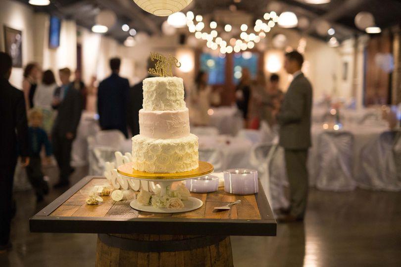Ornate cake