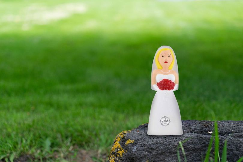 For those stressful planning days, these bride stress balls are perfect!