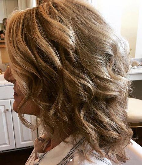 Downdo, soft curls