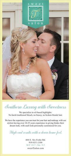 southern bride ad