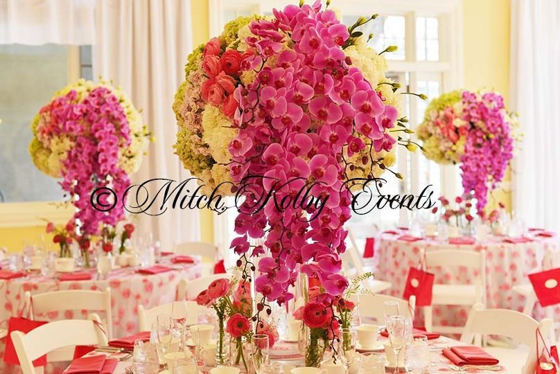 alpine country club centerpieces