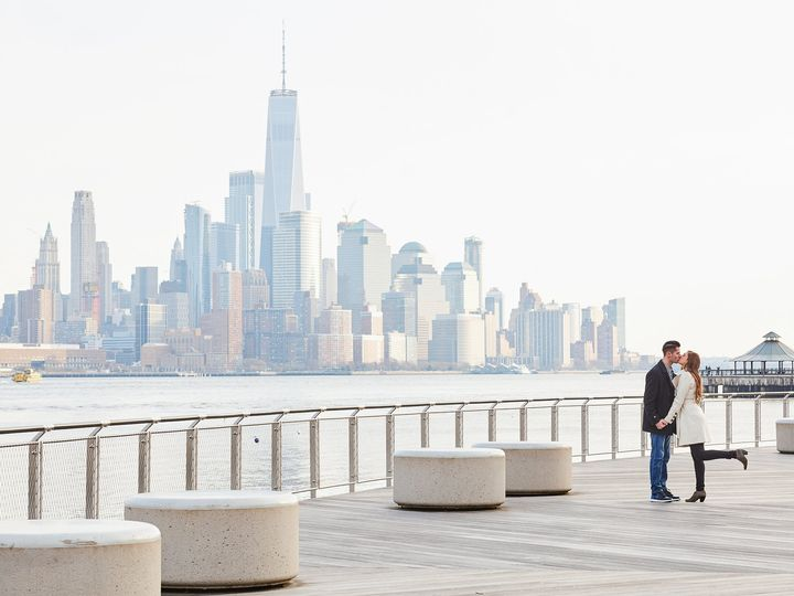 Tmx Bianca And Dan Engagement Photoshoot At Hoboken Waterfront Walkway Artem Kemenyash Photographer In New York 45 51 969842 V1 New York, New York wedding photography