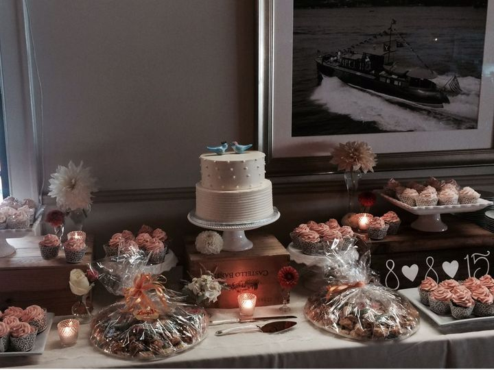 Tmx 1537552871 6accdd1ef2cd050f 1537552851 B4e85a58bac817c1 1537552849152 7 Cupcake Display West Mystic, CT wedding catering