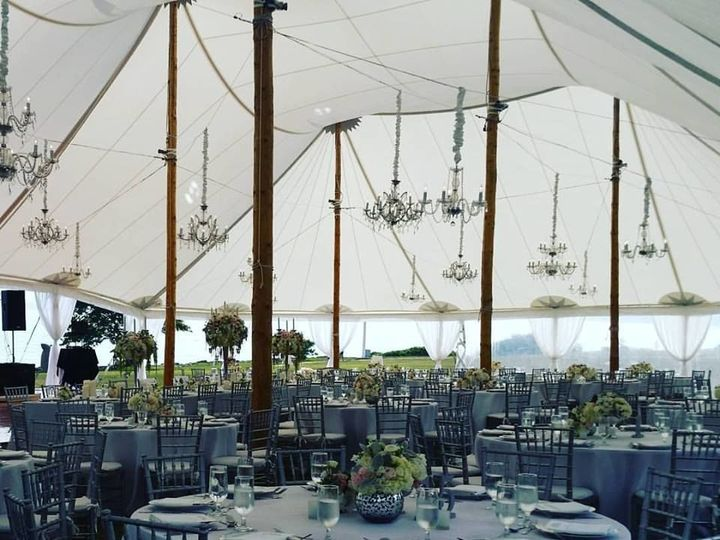 Tmx 1538672302 07f1d3ab928ad024 1538672302 8efe46f8f46912cb 1538672299800 26 Tented Reception West Mystic, CT wedding catering