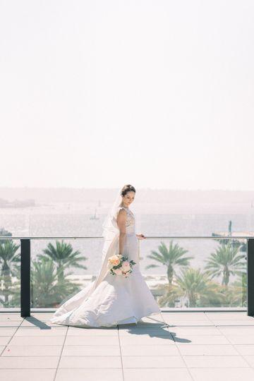 A bayside bride