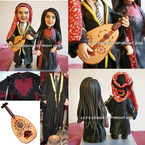 It is never a problem to create a cake topper that represents your culture. :o)
