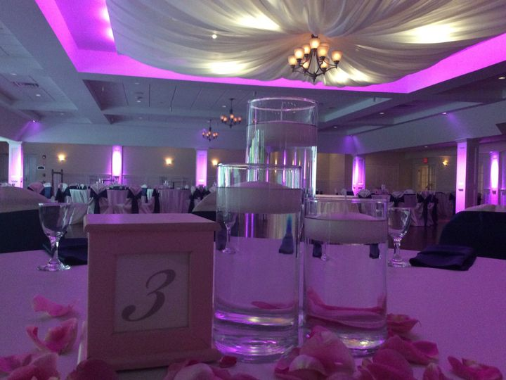 Tmx 1488821195576 Uplighting With Drapery West Bridgewater, MA wedding venue