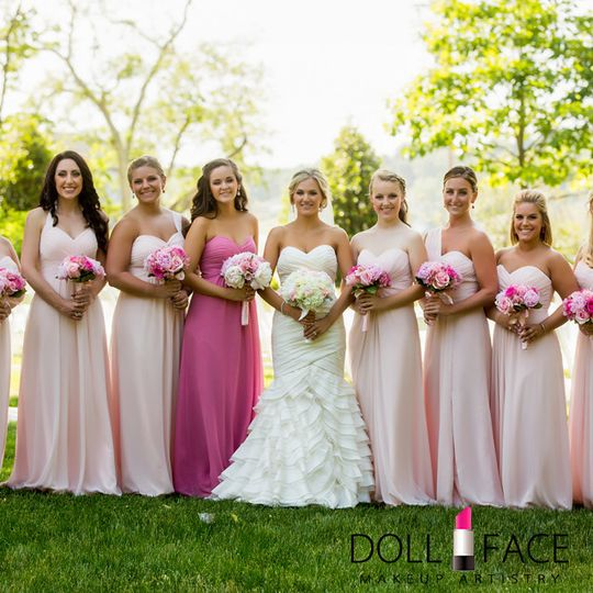 emily bridal party