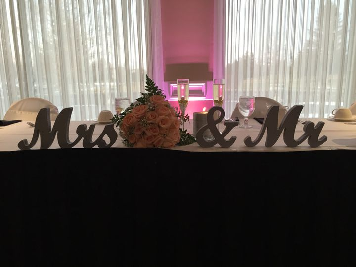 Sweet hearts table