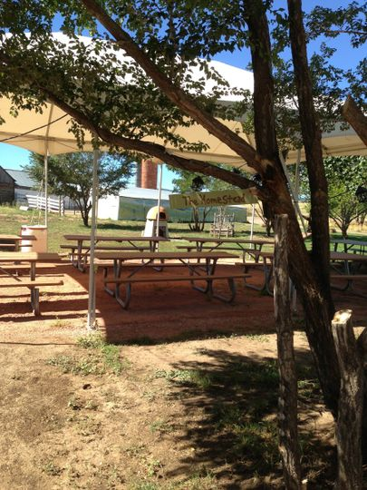 This is our Homestead Setting for up to 200 seated guests. Features 100 plus year old log barn,...