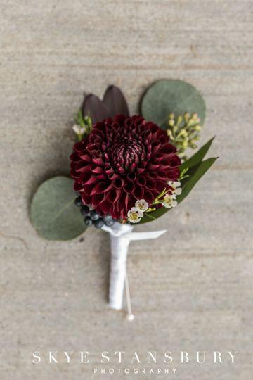 Groom's Lapel Flower.