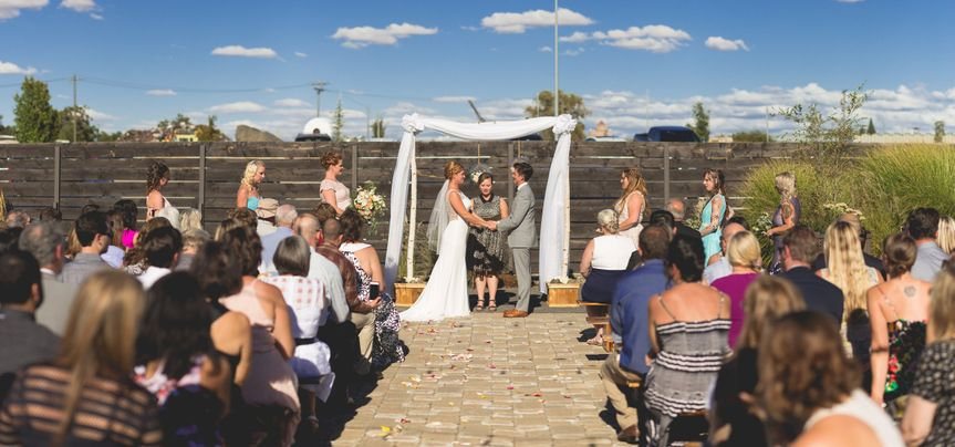 Outdoor Ceremony  Photo Credit: Nick Page Photography