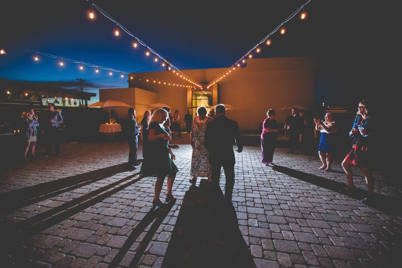 Outdoor Dance Floor  Photo Credit: Nick Page Photography