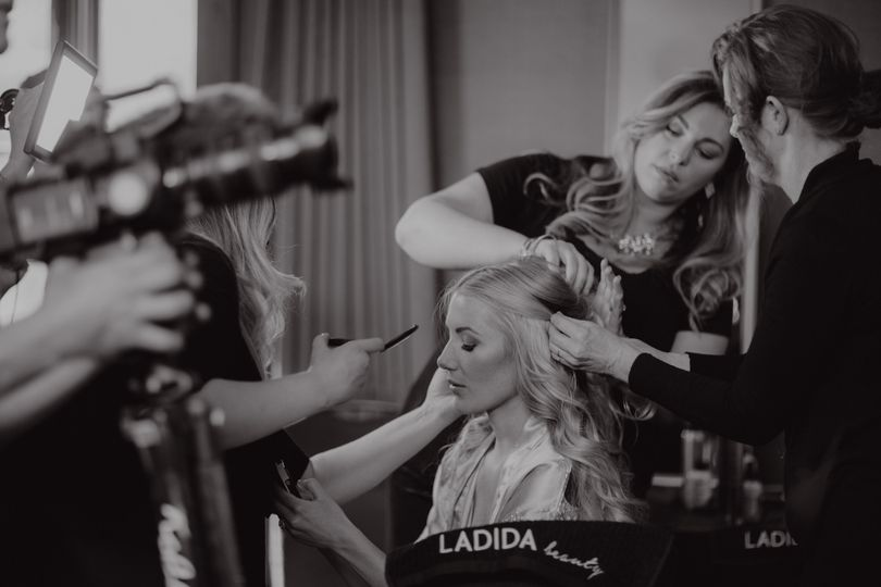 Styling team | Photography by Chard Photo, Venue Hyatt Lake Tahoe, Incline Village, Makeup and Hair...