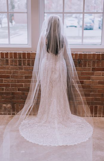 Wedding Dress by White Traditions Bridal House / OV Photography