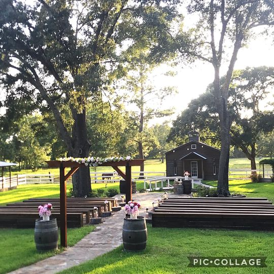 Ceremony area