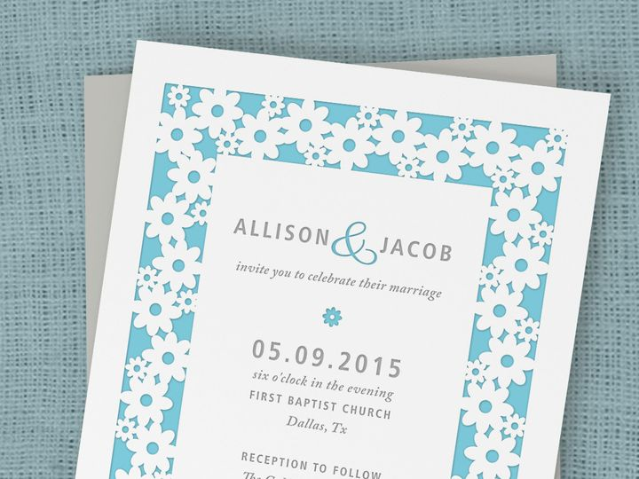 Tmx 1430232561369 Daisylovemock1b Bedford wedding invitation