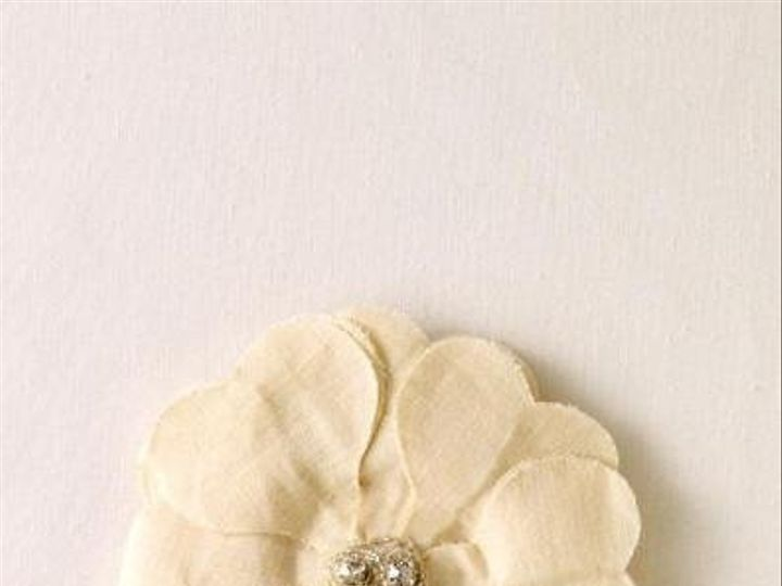 Tmx 1265853699150 BardotFlowerIvory Coronado wedding jewelry