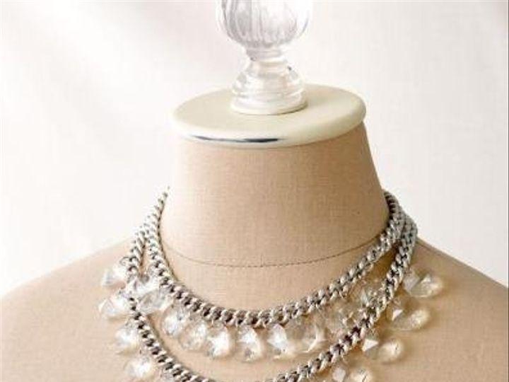Tmx 1265853700165 ByblosChandelierNecklaceSilver Coronado wedding jewelry