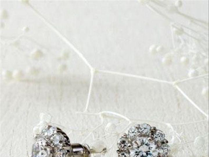 Tmx 1265853700821 GlintCZearrings Coronado wedding jewelry