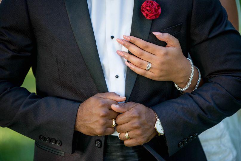 Groom's tuxedo