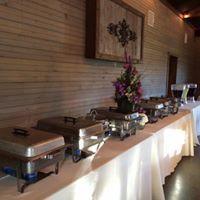 Buffet setup