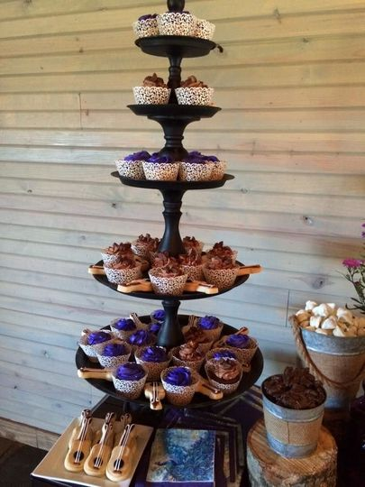 Pastry tower