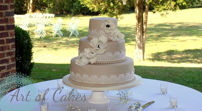 Art of Cakes - Wedding Cake - Maryville, TN - WeddingWire
