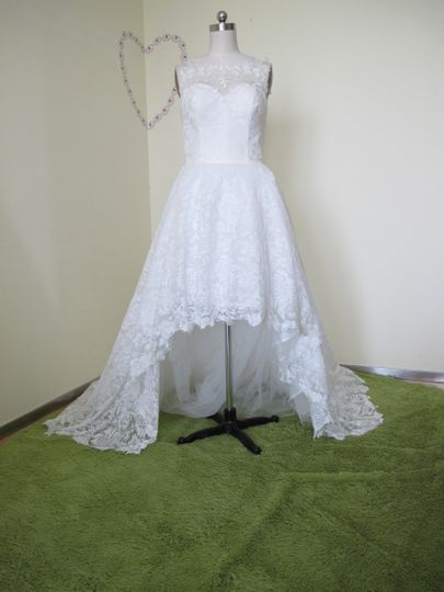 New Style A-line Tulle&Satin Bateau Neckline Sequins Chapel Train Wedding Dress W9082