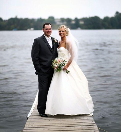 River Run Country Club Wedding: Lake Wissota Golf & Events