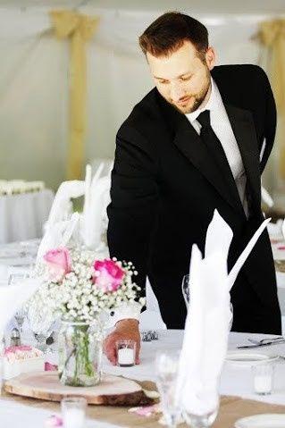 wedding james table