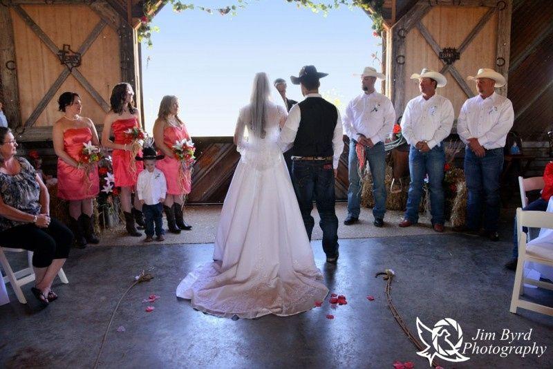 Open air wedding ceremony