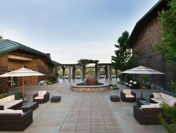 Exterior view of the Sonoma Winery Weddings
