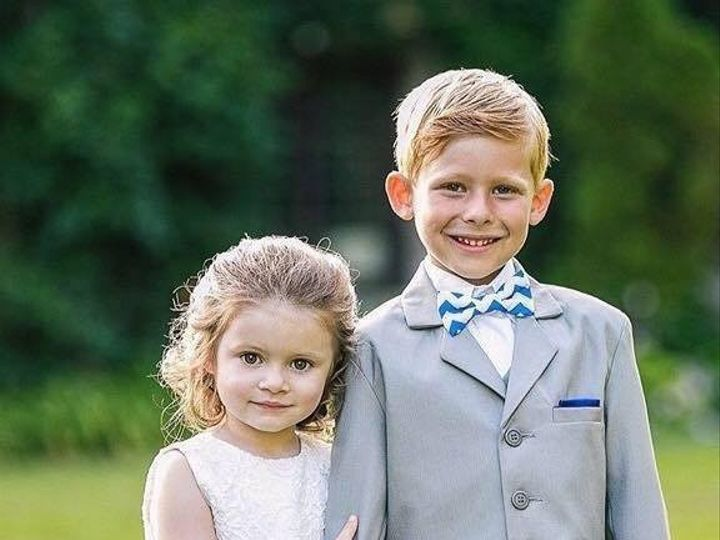 Tmx 1474560730700 Flower Girl And Ring Bearer Orange, Connecticut wedding dress