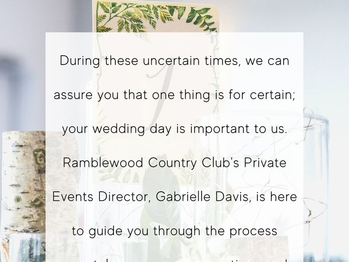 Tmx Rb Wedding Flyer 51 908052 158739804495443 Mount Laurel, NJ wedding venue