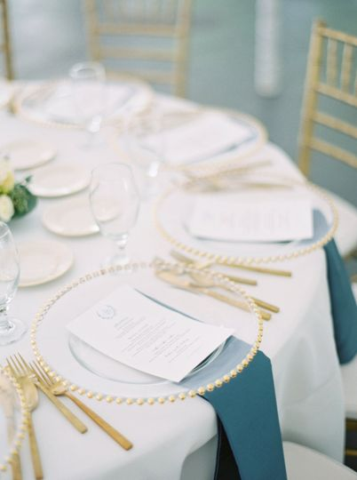 Table arrangement Jeremiah & Rachel Photography