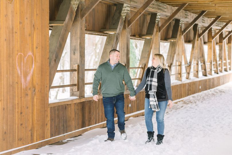 Wintry CLE Engagement Session