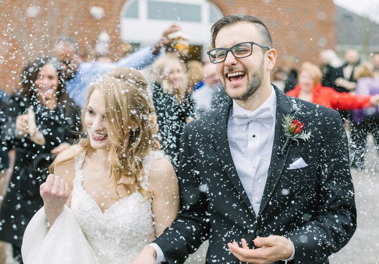 Wintry PA Wedding