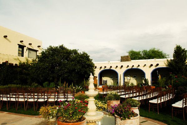 Ceremony at Hacienda del Sol