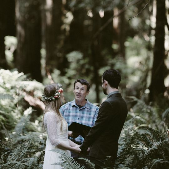 Congratulations Brenna & Jake | Prairie Creek State Park, California | Photo: Ash Carr Photography