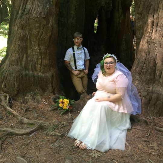 Congratulations River & Thorin | Humboldt Redwoods State Park, California
