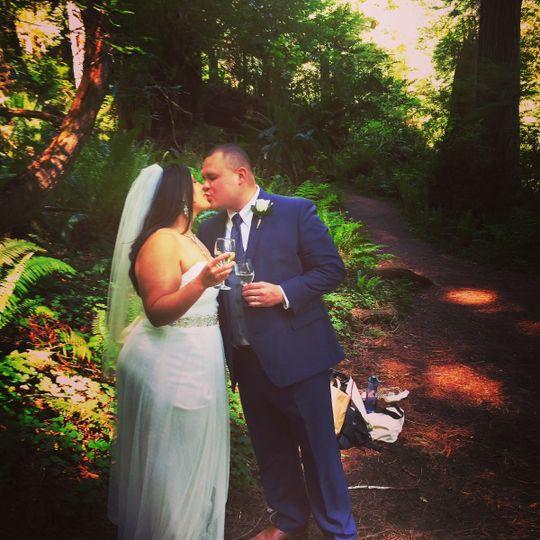 Congratulations Kaila & Aaron | Prairie Creek State Park, California