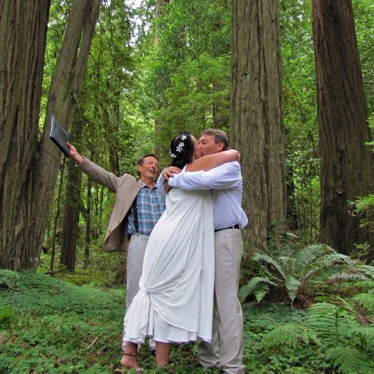 Congratulations Gena & Terry | Humboldt Redwoods State Park, California