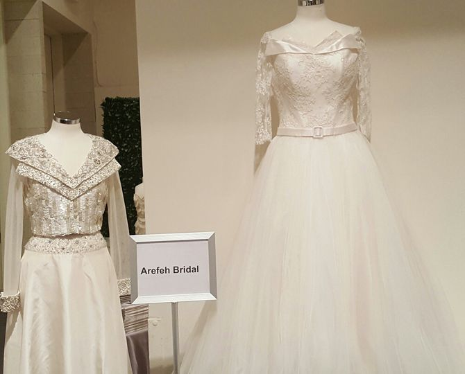 Arefeh Bridal during NYC Bridal Week