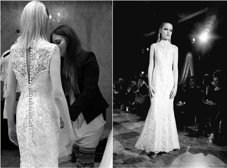 Wedding gown Designer Arefeh Mansouri ?Paris Fashion Week?, Arefeh Bridal
