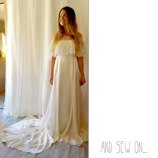 And Sew On Bride