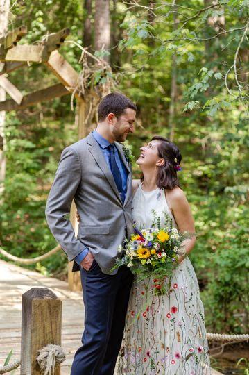 mkm photography laid back intimate woodland magic wedding at timerblake earth sanctuary 3 51 546152 1566581279
