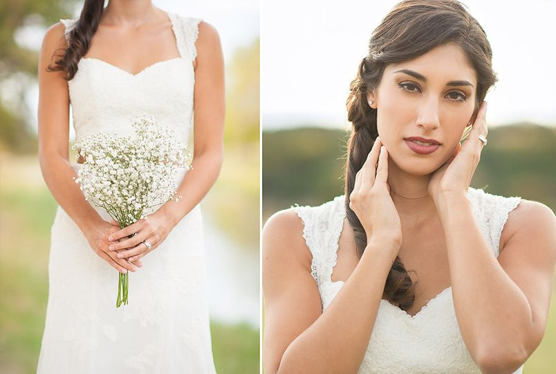 sierra bridal portraits