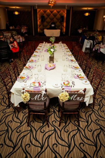 Couple's Dining table